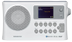 SANGEAN BTR-160, DAB+/FM portable radio, Bluetooth,  RDS, white