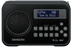 SANGEAN DPR-67, portable DAB+/FM radio, RDS, rechargeable,  black
