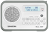 SANGEAN DPR-67, portable DAB+/FM radio, RDS, rechargeable,  white/ grey