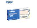 BROTHER PC-70 PAPER CASSETTE W/THERMO TRANSF ROLL FOR FAX T72/ T74/ T76  IN SUPL