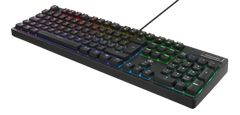 DELTACO GAMING GAM-028 Keyboard Mechanical RGB / 16 million colors Wired Nordic