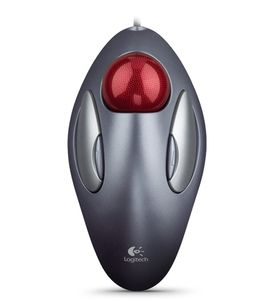 LOGITECH MOUSE MARBLE USB+PS2   (910-000808)