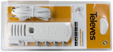 TELEVES Indoor HF Amplifier,  3 Outputs, 20/106 dB, 47-790 MHz, White