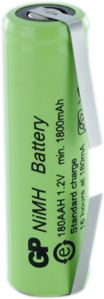 GP Rechargeable Battery AA 1.2V (GP180AAHC)