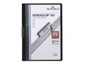 DURABLE Klemmappe DURACLIP A4 60 ark sort