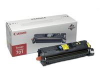 CANON CLBP 5200 Yellow Toner Cartridge Light (CRT-701L) (9288A003)