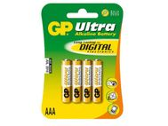 GP Super Alkaline 4-pack - AAA Batteri (151003)