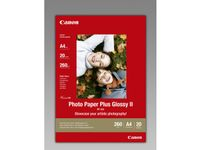 CANON BJ MEDIA PH PAPER PP-201 A4 20SH (2311B019)