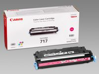 CANON 717 toner cartridge magenta standard capacity 4.000 pages 1-pack (2576B002)