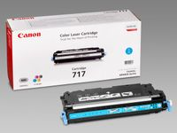 CANON 717 toner cartridge cyan standard capacity 4.000 pages 1-pack (2577B002)