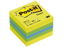 POST-IT Notes POST-IT Minikub 51x51mm lemon (3700312) (3700312)