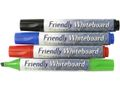 FRIENDLYWAY Whiteboardpen FRIENDLY skrå 4/pk.