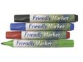 FRIENDLYWAY Markerpen FRIENDLY rund 4/pk.