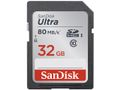 SANDISK ULTRA UHS-I SDHC CARD (CLASS 10 32GB 80MB/S)