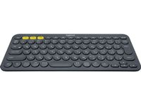 LOGITECH K380 KEYBOARD DARK GREY MULTI-DEVICEBLUETOOTH(PANNORDIC) NX (920-007578)