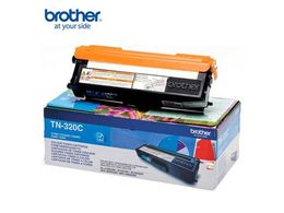 BROTHER TN-320 toner cartridge cyan standard capacity 1.500 pages 1-pack