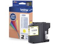 BROTHER LC-223 ink cartridge yellow standard capacity 550 pages 1-pack