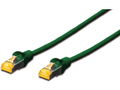 MICROCONNECT S/FTP CAT6A 2M Reen Snagless