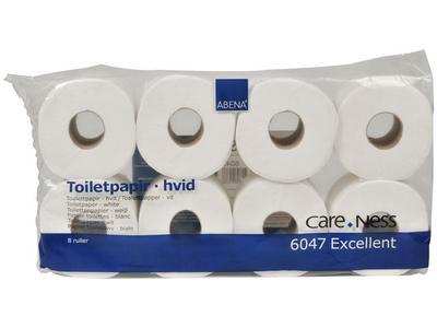 ABENA Toalettpapper 3 lager vit 72/fp (6047)