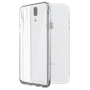 KSIX Flex Cover, iX, Transparent TPU Cover iPhone X (B0938FTP00)