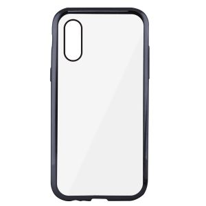 KSIX Flex Cover Metal, iX, Metallic Gray TPU Cover iPhone X (B0938FTP15)
