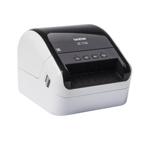 BROTHER QL1100 labelprinter USB  to PC og Mac Printspeed up to110 mm/sek. Automatic knife (QL1100ZW1)