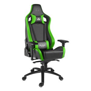 ALPHA GAMER Polaris Racing Black/ Green (AGPOLARISRE-BK-GRN)