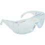 _ Beskyttelsesbrille, THOR Visitor, One size, klar, PC, kan bæres med almindelige briller, flergangs