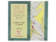 CLAIREFONTAINE Tegnebok CLAIRE 20x20cm 36 ark blomster (97502C*5)