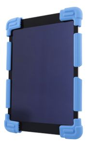 "DELTACO Case in silicone for 9-11,6"" tablets, tripods, blue (TPF-1306)"