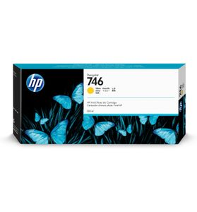 HP 746 300-ml Yellow Ink Cartridge (P2V79A)