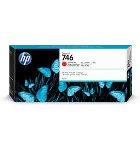 HP 746 300-ml Chromatic Red Ink Cartridg (P2V81A)
