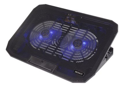 DELTACO Laptop Fan Black (LTC-100)