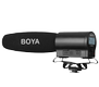 BOYA Shotgun Microphone with Intergrated Flash Recorder