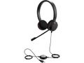 JABRA EVOLVE 20 MS Stereo USB Headband Noise cancelling USB connector with mute-button and volume control on the cord