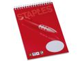 STAPLES Spiralblock STAPLES A5 60g 100bl lin