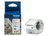 BROTHER CZ-1004 tape white 25mm x 5m