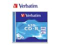 VERBATIM 52x CD-R 80min 700MB 10-pack (Azo) Jewel Case
