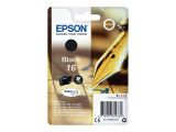 EPSON 16 ink cartridge black standard capacity 5.4ml 175 pages 1-pack blister without alarm