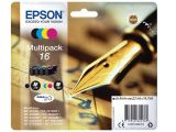 EPSON 16 ink cartridge black and tri-colour standard capacity 14.7ml 1-pack blister without alarm