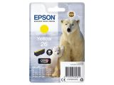 EPSON 26 ink cartridge yellow standard capacity 4.5ml 300 pages 1-pack blister without alarm
