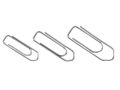 STAPLES Clips STAPLES 32mm 100/pk.