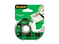 SCOTCH Dokumenttape 810 19mmx15m med holder