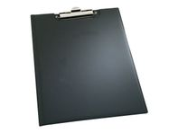 Clipboard DURABLE A5 med omslag sort