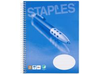 STAPLES Kollegieblok STAPLES A5 2hul lin (544 03 86/ 5976078/ 5548971)