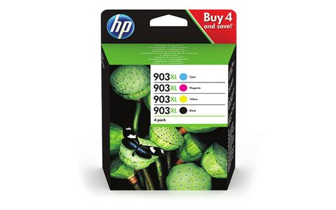 HP No903XL High Yield C/M/Y/K Ink Cartridge Blistered (3HZ51AE#301)