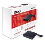 CLUB 3D USB 3.1 Type-C to VGA + USB Mini Dock (CSV-1532)