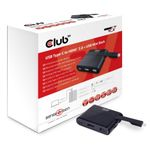 CLUB 3D MINI USB 3.0 TYPE C DOCKING STATION