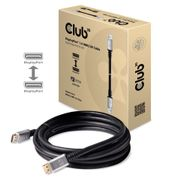 Club 3D Club3D DisplayPort 1.4 HBR3 8K60Hz Cable Male/Male 4M silver plugs