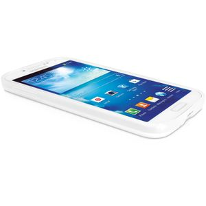 VIDEO SEVEN FLEXSLIM CASE FOR S4 WHT SEMI TRANSPARENT FLEX TPU COVER ACCS (PD13WHT-14E)